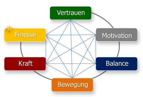 Das Ziel-System des Trust-your-Horse Anreite-Coachings